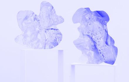 Rachel De Joode I Contiguity I-II I  2015 I New York I Martos Gallery I Studio Violetblue
