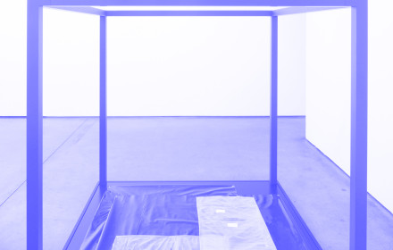 Tom Burr_Federal Asphyxiation_Maureen Paley_Studio Violet_blue
