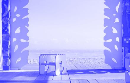 Sol Calero_Casa Anaconda_FolkstoneTriennial_StudioViolet_Viola Eickmeier_blue