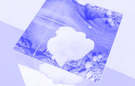 Sinea Yoo I Untitled I Neumeister Bar-Am I 2017 I Studio Violet I Viola Eickmeier_blue