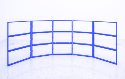 Femke Herregraven_Frames_Westfälischer_Kunstverein_Studio Violet_Viola Eickmeier_blue